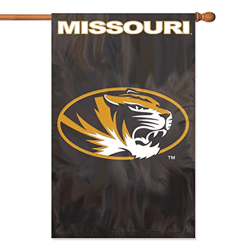(Party Animal Missouri Tigers Banner College Flag)