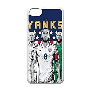iPhone 5c Cell Phone Case White WorldCup United States Oofup