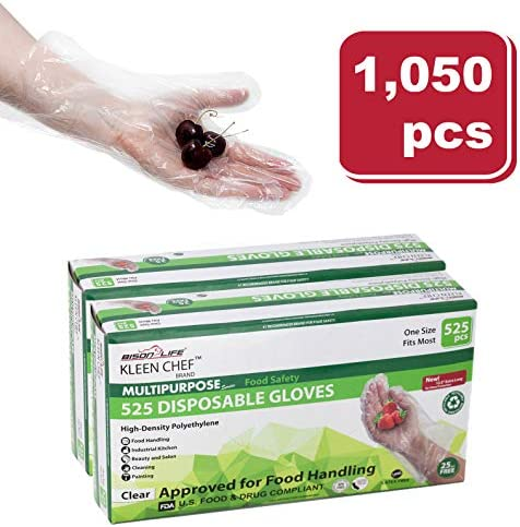 Disposable Food Handling Long Gloves