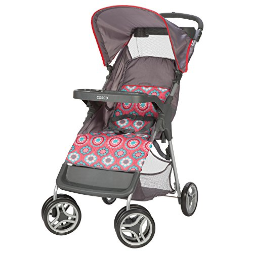 (Cosco Lift and Stroll Convenience Stroller, Posey Pop )