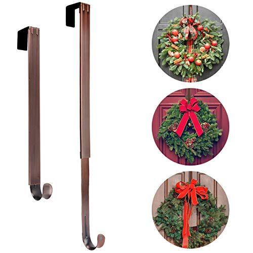 AnCintre Wreath Hanger, Adjustable Length from 15