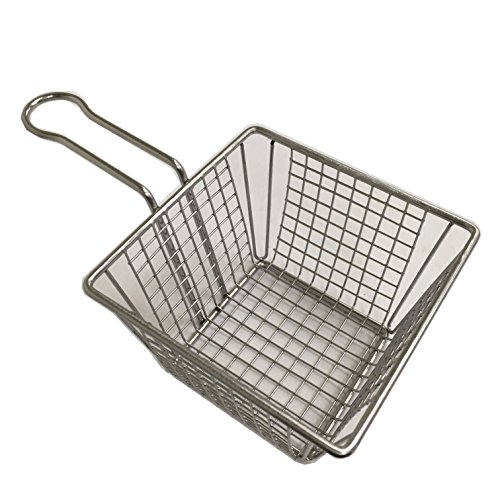 easy-fashion-ef-a001-304-stainless-stell-mini-fry-basket-silver-6-of-set-square-table-serving-
