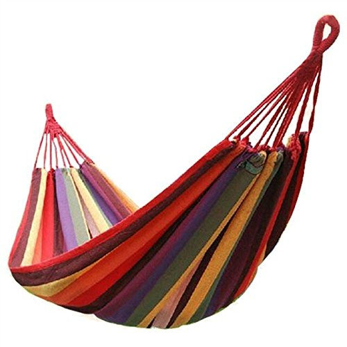 Outdoor Leisure Double 2 Person Cotton Hammocks 450lbs Ultra