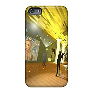 KellyLast Apple Iphone 6 Plus Protector Hard Cell-phone Cases Custom HD Pavillion Indoor Image [USp1775Wcxt]