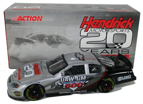 Program Car Diecast HMS 20th Anniv. Pace Car 1/24 2004