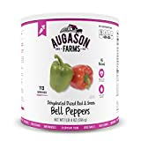 Augason Farms Dehydrated Diced Red & Green Bell Peppers...