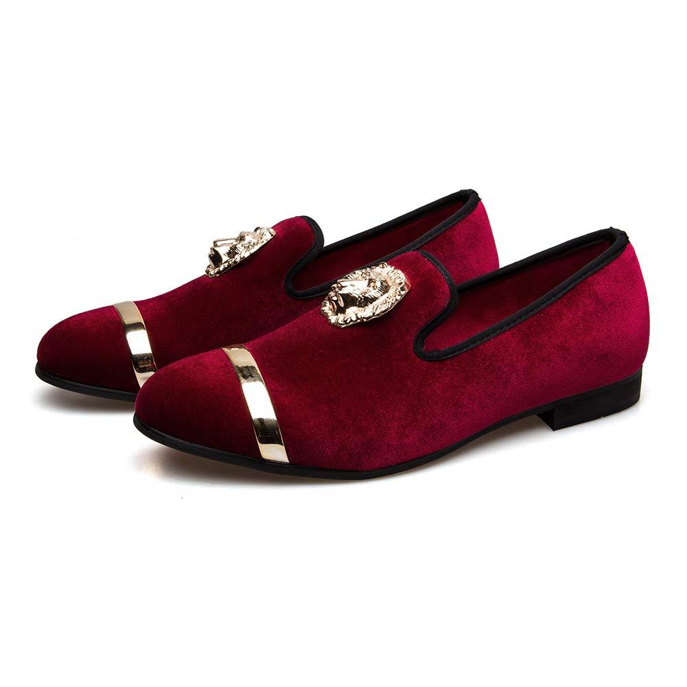 Hombre Penny Slip-On Cuero Forrado mocas/ín Hombres Zapatos Mocasines/…