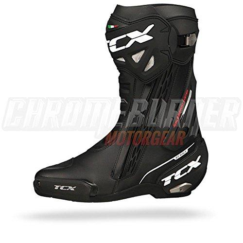 RT NERO 10 44 TCX RACE 44 Boots BLACK 7655 nqgvTvI