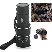 40x60 Mini Compact Monocular Telescope Scope for Hunting and Travel Outdoor Birding Sightseeing