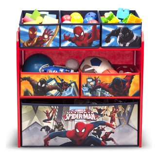 Spider-man Multi-Bin Toy Organizer