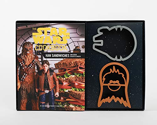 The Star Wars Cookbook: Han Sandwiches and Other Galactic Snacks ()
