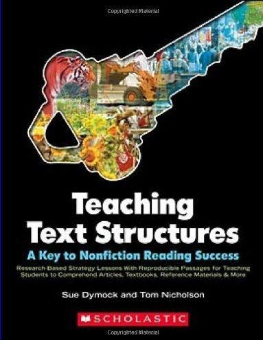 Amazon.com : Scholastic 978-0-545-01103-7 Teaching Text Structures ...