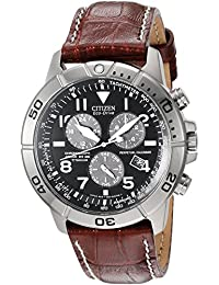 Men's Eco-Drive Titanium Chronograph Watch with Perpetual Calendar and Date, BL5250-02L