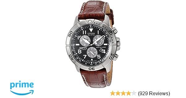 ff5b2ffe15 Amazon.com  Citizen Men s Eco-Drive Titanium Chronograph Watch with  Perpetual Calendar and Date