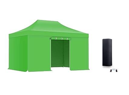 ACTIEXPRESS Pack Tente Pliante, Barnum Pliant, Tonnelle 3x4,5m ...