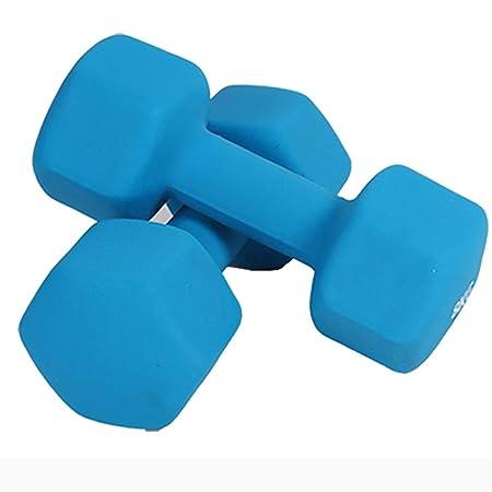 WSC Mancuernas Hexagonales De Goma Y Plástico, Equipos De Fitness ...