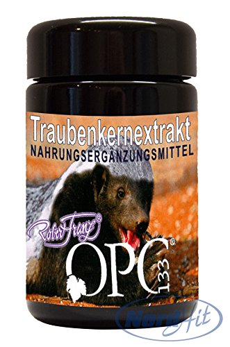 Original Robert Franz Traubenkernextrakt OPC 133 - 60 Kapseln (26,79 g)