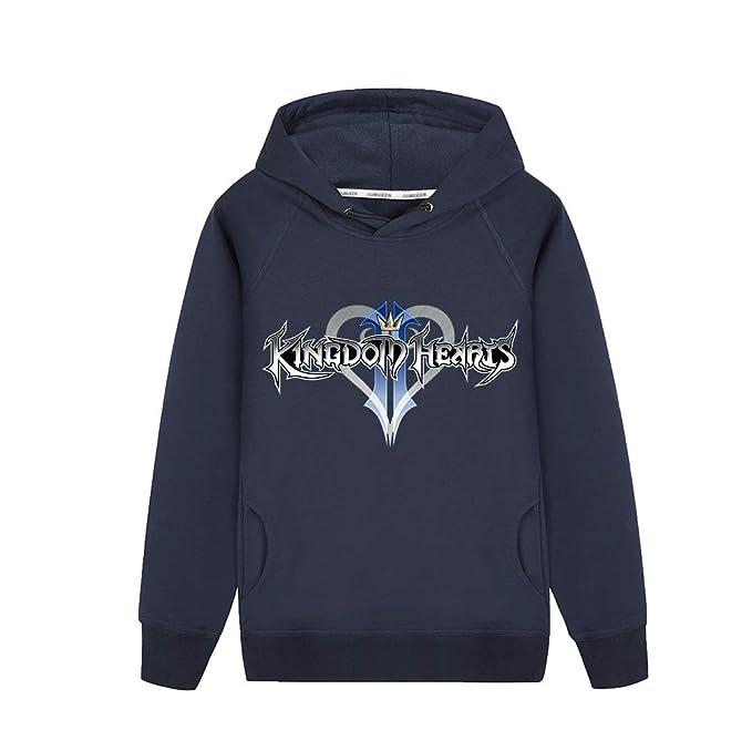 Kingdom Hearts Abrigo con Capucha Sudaderas Hoodie Tendencia Caída Invierno Jacket Coat Outwear Sudaderas con Capucha: Amazon.es: Ropa y accesorios