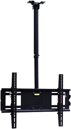 SUBBYE Soporte De TV De Techo Ajustable En Altura Soporte Giratorio De Inclinación para 60-75 Pulgadas Monitor De Plasma LED Pantallas De Pantalla Plana Smart TV: Amazon.es: Hogar