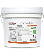 Nutiva Organic, Neutral Tasting, Steam Refined Coconut Oil