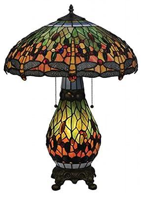 Dale Tiffany Dragonfly Tiffany Lamp