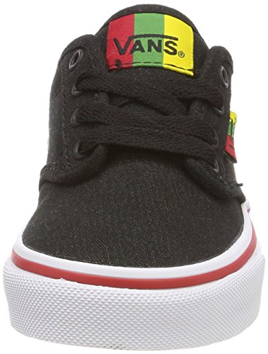 Rasta Low Black Top Atwood Yt Vans Sneakers Boys' wTqtxF0
