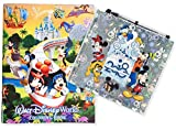 Disneyland Resort 2018 Autograph Book with Pen and 96 Page Coloring Book