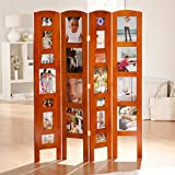 Memories Photo Frame Room Divider - 4 Panel