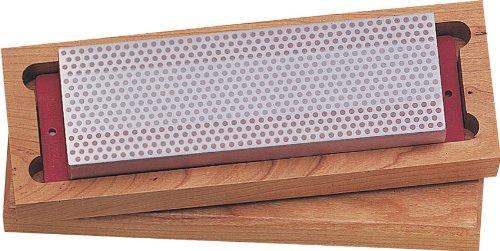 DMT W8F 8-Inch Diamond Whetstone Sharpener, Fine with Hardwood Box