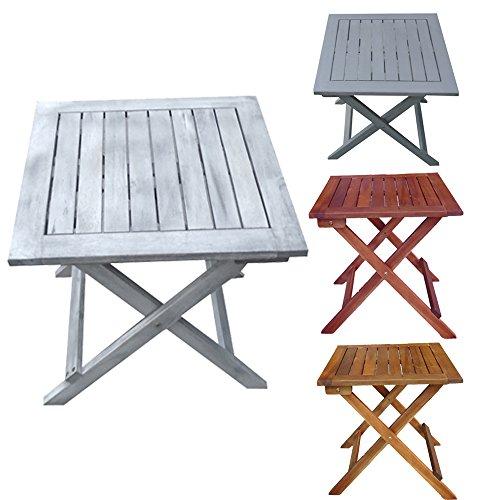 Promafit Table d appoint Pliable en Bois Dionysos - Table ...