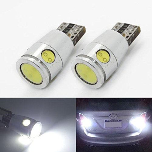 Partsam 2pcs T10 T15 921 2825 147 W5W Backup Reverse Light Reverse Lamps Xenon White 6000k High Power Parking License Plate Light Led Bulbs Ultra Bright LED (2006 Chevy Monte Carlo Parts compare prices)