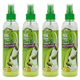 Sof N'Free Milk Protein & Olive Oil Leave-In Treatment Refreshing Spray (8 Oz) Pack Of 4 Review
