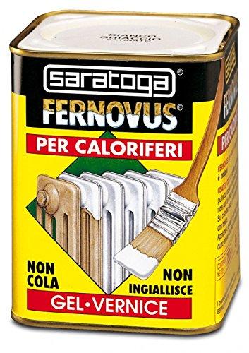 Saratoga Fernovus Speciale Per Caloriferi 750ml Smalto Bianco Neve Satinato  Per Termosifoni Diretto Su Ruggine