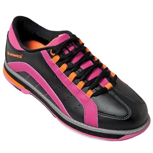 brunswick-womens-raven-bowling-shoes-black-pink-orange-70