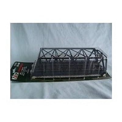 Kato 20-438 N Double Black Truss Bridge: Toys & Games