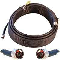 weBoost Ultra Low Loss Coaxial Cable – N-Male to N-Male Connectors – 75 Feet