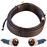Wilson Electronics 75 ft. Black Wilson400 Ultra Low Loss Coax Cable (N-Male to N-Male)