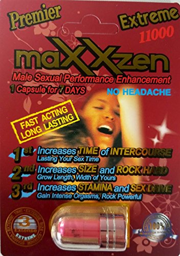 CBC maXXzen Red Extreme 11000 Male Sexual Performance Enhancement (12) by PremierZEN