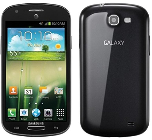 Samsung Galaxy Express I437 Quad-Band GSM Smartphone - Black - Unlocked ()