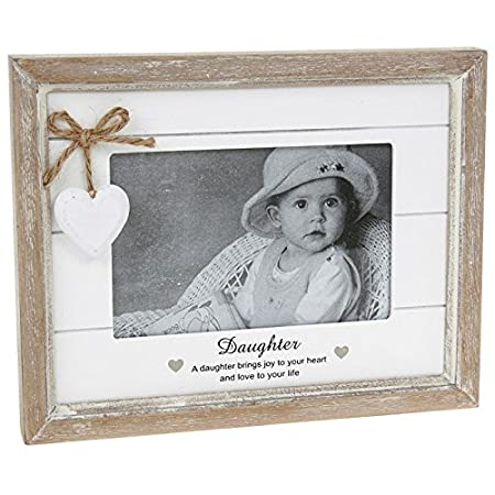 ukgiftstoreonline Vintage Shabby Chic Daughter Photo Frame Gift With ...