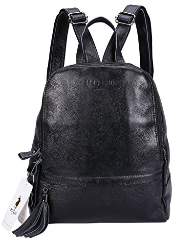 Grain Leather Backpack - 4