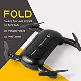 Leewa@ Foldable Portable Mini 2.4G 6Axis HD Camera WIFI FPV RC Quadcopter Drone Selfie