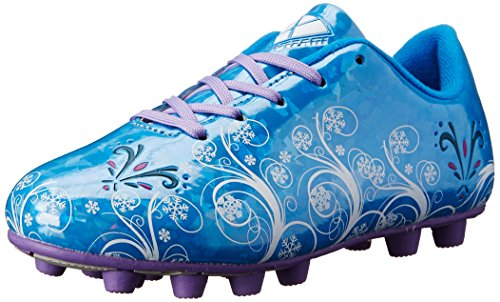 Image of Vizari Frost Soccer Cleat (Toddler/Little Kid), Blue/Purple, 13.5 M US Little Kid