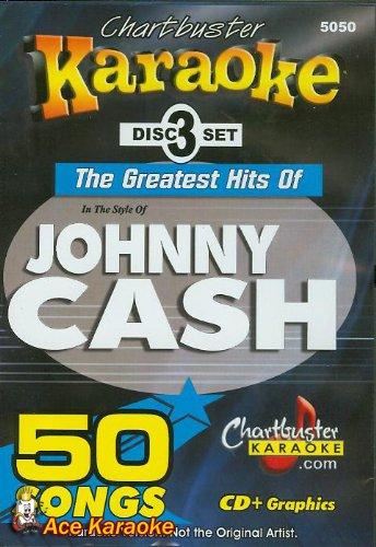 Chartbuster Karaoke CDG CB5050 The Greatest Hits of Johnny Cash