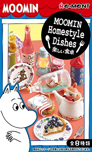Re-Ment MOOMIN Homestyle Dishes miniature 8 pieces per BOX