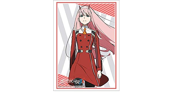 Darling in the FranXX Zero Two Card Game Character Sleeve Collection HG Vol.1698