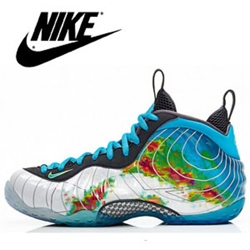 13bfe76735c Nike Air Foamposite One Prm Weatherman Penny Hardaway Edition 575420 100  Basketball Hi Top Sneakers Shoes – Sports Men Shoes