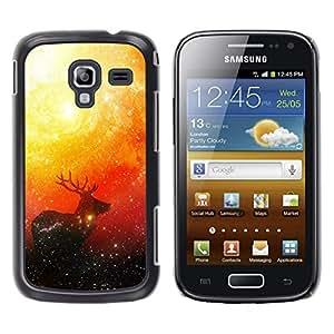 Stuss Case / Funda Carcasa protectora - Espacio ciervos - Samsung Galaxy Ace 2