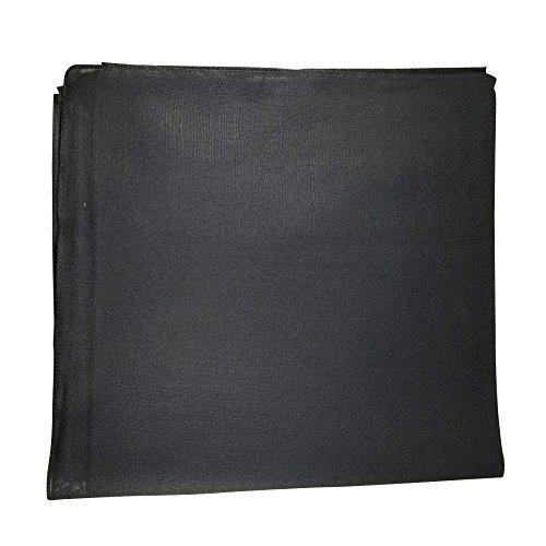 Bandana Cotton Black (One Dozen Solid Plain Colors 100% Cotton Bandana - 12 Pack by M.H.I. ( 14 Colors) (Black))