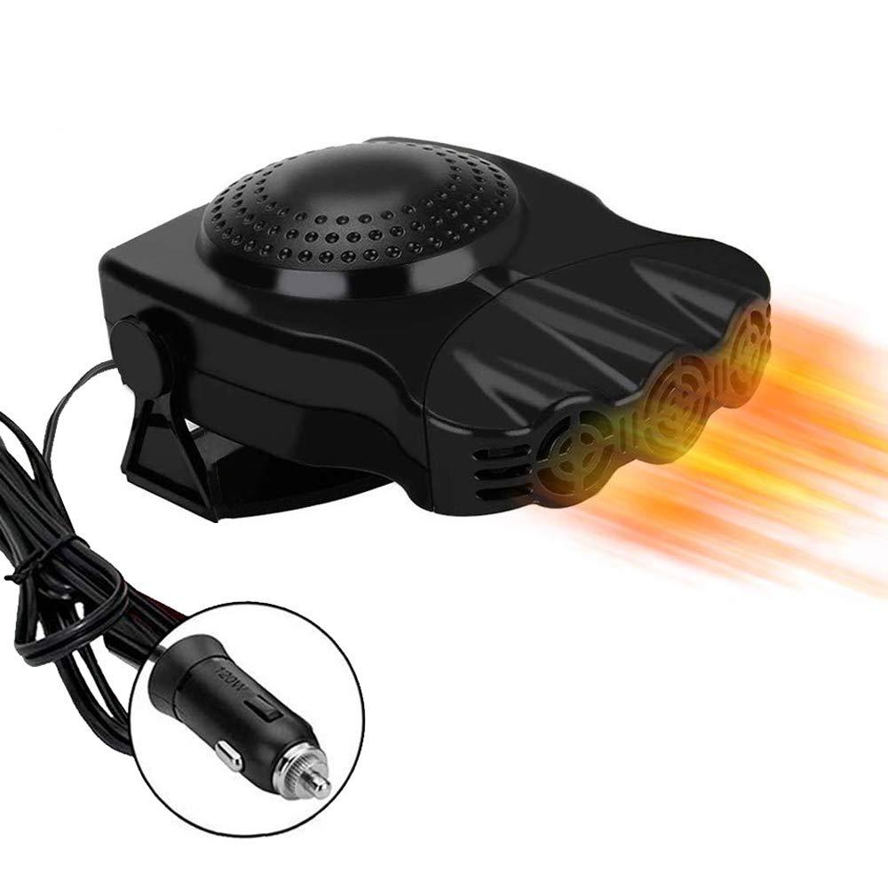 riscaldatori per auto Sbrinatore a riscaldamento Defogger Demister Veicolo Ventola di raffreddamento del calore Parabrezza automatico Riscaldatore in ceramica Sbrinatore del riscaldatore per auto